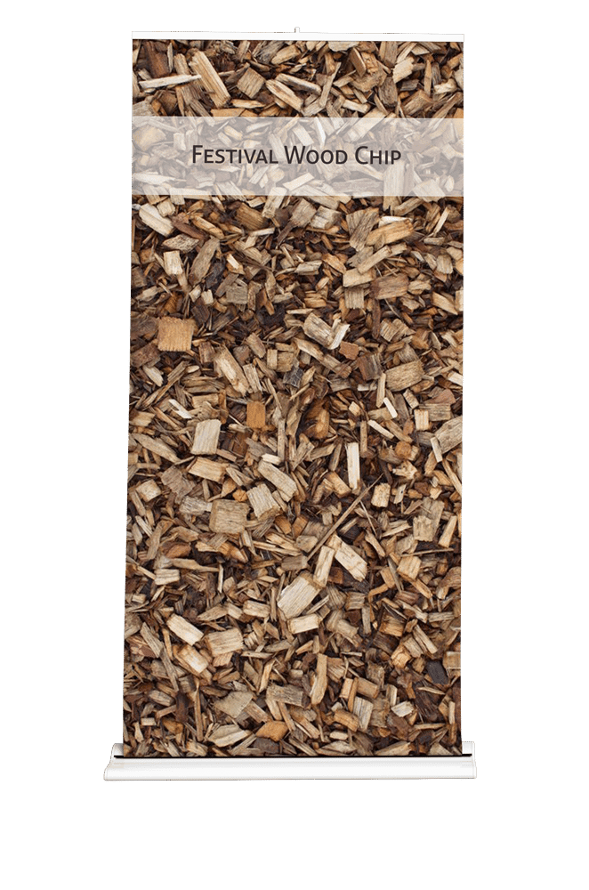 Wood chippings for play area delivered by Woodyfuel