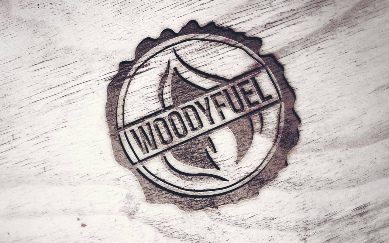Logo of Woodyfuel - a solid fuel company and green energy supplier
