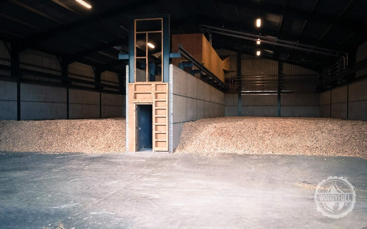 wood chip is dried to 20% moisture level content for the best performance of your boiler by Woodyfuel