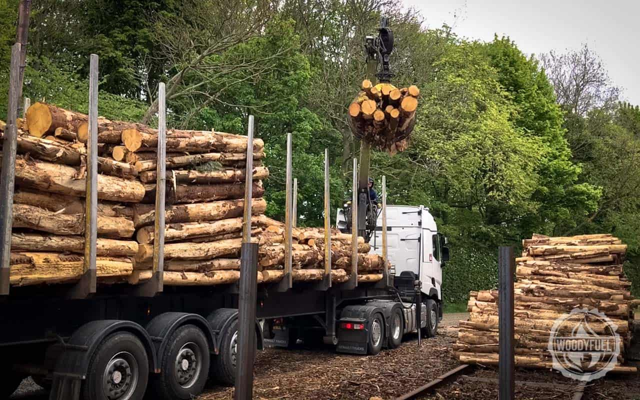 Virgin wood supplied from the environmentally friendly timber in the UK