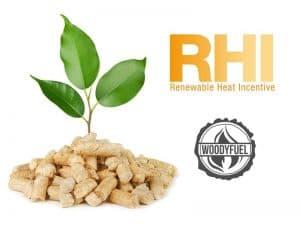 Renewable heat incentive for biomass fuel
