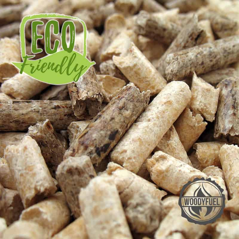 Eco friendly biomass heating system - pellet