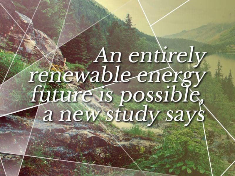 Locally generated energy is the future