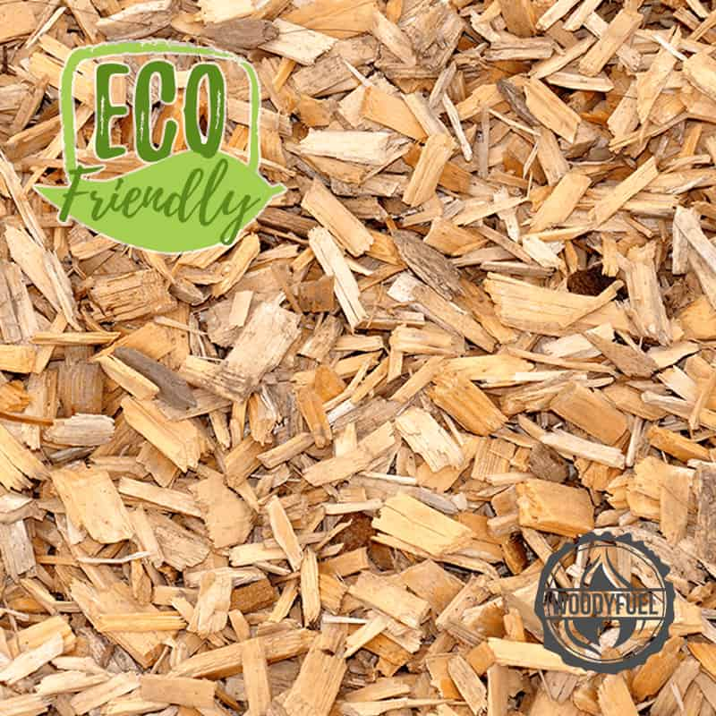 Eco-friendly wood chip