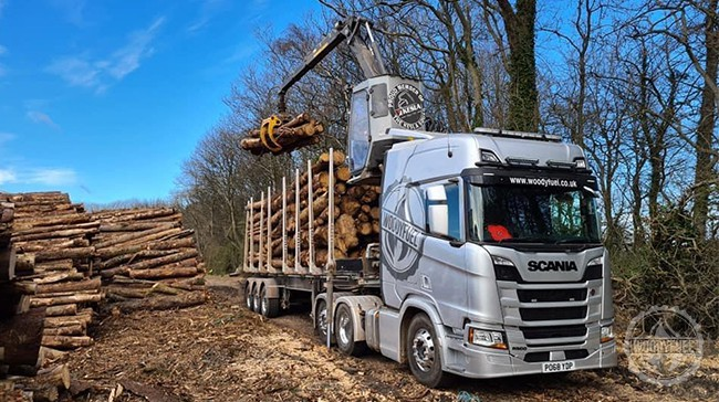 Solid fuel company specialising in wood chipping machinery, wood fuel deliveries and green energy technology