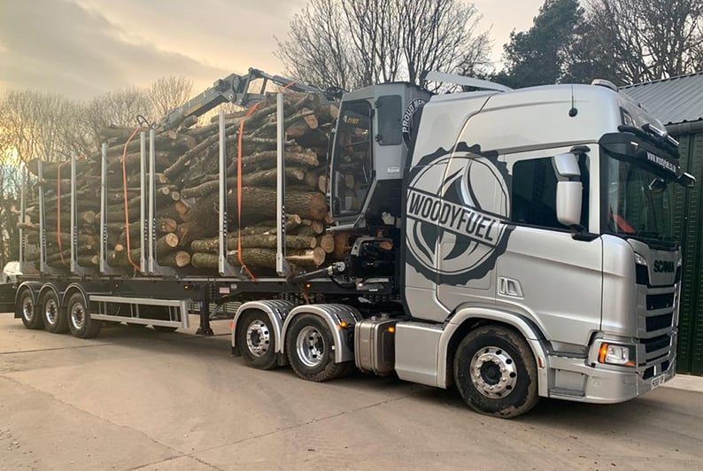 Woodyfuel delivery supplier of wood chip