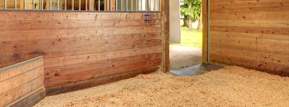 Barn bedding wood chip
