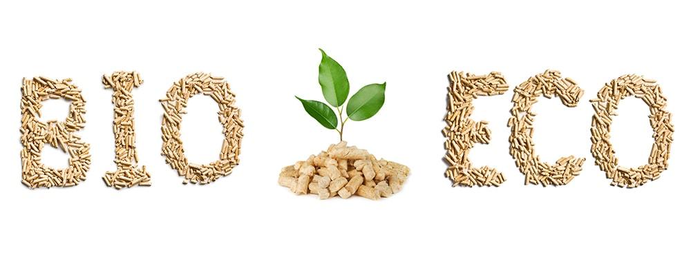 Eco wood pellets