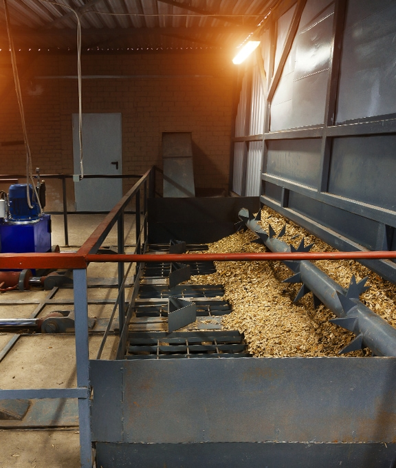 Biomass fuel supply commercial sector