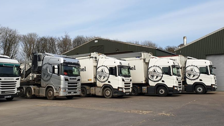 Lincolnshire depot for biomass wood fuel